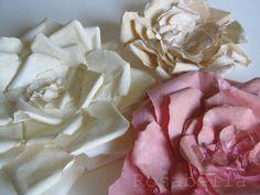 МК - бумажный цветок с рваными краями. Обсуждение на LiveInternet - Российский Сервис Онлайн-Дневников