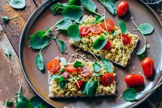 Scrambled tofu with