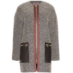 Etro Coat With Leather Pockets and other apparel, accessories and trends. Browse and shop related looks.