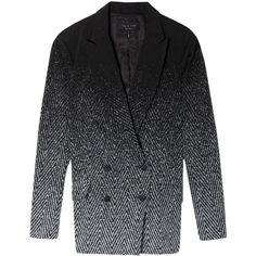 RAG & BONE Boleyn Textured Blazer ($804) ❤ liked on Polyvore
