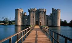 Bodiam Castle: lots of opportunities for adventures. Photograph: Photopix/Getty Images