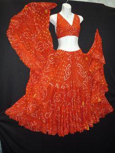 WANT! Magical Fashions - Jaipur Skirt Halter Ensemble, Orange, $135.00 (http://www.magicalfashions.com/copy-of-jaipur-skirt-ensemble-pink-and-black/)