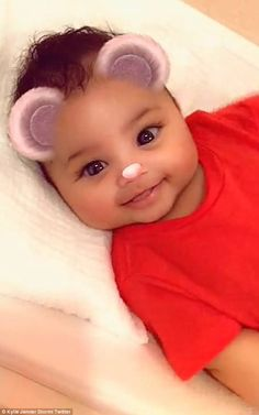 Pride and joy! Kylie Jenner appeared back in full mommy mode after a weekend at Coachella,. Kylie Jenna, Kylie Baby, Kylie Travis, Filipino Baby, Cute Kids, Cute Babies, Kylie Collection, Jenner Family, Kardashian Family