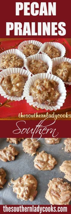 This Pecan Praline recipe is a Southern favorite. A very sweet and sugary candy laden with pecans and so famous in New Orleans. There are many different recipes for this treat but most of them … (southern pecan praline cake) Pecan Recipes, Candy Recipes, Holiday Recipes, Dessert Recipes, Cooking Recipes, Christmas Recipes, Christmas Candy, Holiday Treats, Christmas Sweets