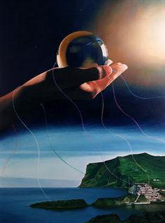'The big trip' - Lithograph (42,5x34cm) signed by the author Mário Ferraz