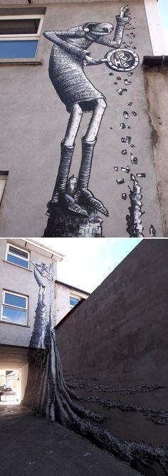 #phlegm #streetart #urban