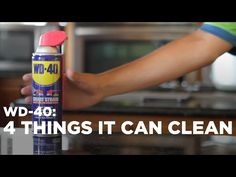 4 Really Clever Cleaning Tips And Hacks Using A Can of WD-40