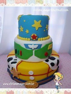 Resultado de imagen para tortas decoradas con toy story
