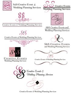 August 22: Event Planner Logo Concepts
