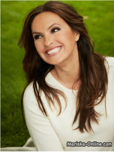Mariska Hargitay ---larger than life yet humble and generous to all, especially her fans. She does amazing work for her foundation//www.joyfulheartfoundation.org and endthebacklog.com