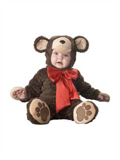 This baby teddy bear costume is a great Goldilocks and the Three Bears costume! Our baby bear costume is great for cuddling on Halloween. Check out all of our infant animal costumes! Bear Halloween, Newborn Halloween, Baby Halloween Costumes For Boys, Theme Halloween, Toddler Halloween, Toddler Costumes, Baby Costumes, Halloween Christmas, Winter Christmas