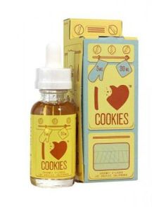 I Love Cookies - Sugar Cookie - 30ml - 60VG - From the makers of I love Donuts comes their freshest new treat fresh from their bakery, I Love Cookies. It's a warm chewy sugar cookie with a sweet strawberry note dipped in a glass of ice cold milk. VG to PG ratio: 60/40