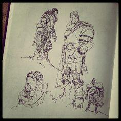 Sketchbook: Knights1