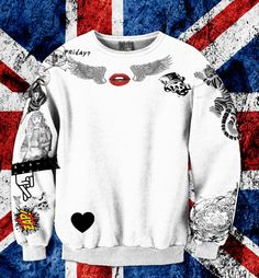 Zayn Malik UPDATED Tattoo One Direction Name Sweatshirt Unisex Adult! MOST RECENT 2014