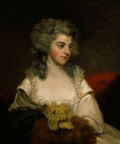 Portrait of a Lady // by John Hoppner (1758-1810)
