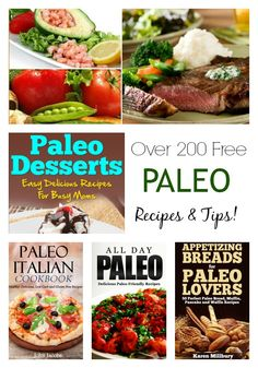 Tons of free Paleo recipes and resources