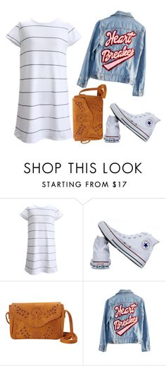 """""""fee"""" by gigi-xcx-493 ❤ liked on Polyvore featuring beauty, Converse, Nu-G and High Heels Suicide"""