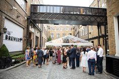 Brewery Wedding Reception, Street View, Summer, Summer Time