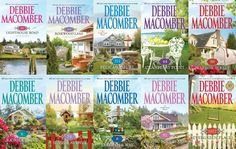 Debbie Macomber - Cedar Cove Series  Cedar Cove Series:  1. 16 Lighthouse Road (2001) 2. 204 Rosewood Lane (2002) 3. 311 Pelican Court (2003) 4. 44 Cranberry Point (2004) 5. 50 Harbor Street (2004) 6. 6 Rainier Drive (2006) 7. 74 Seaside Avenue (2007) 8. 8 Sandpiper Way (2008) 9. 92 Pacific Boulevard (2009) 10. 1022 Evergreen Place (2010)  A Cedar Cove Christmas (2008)