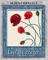 Australian ANZAC Day Cards - Remember