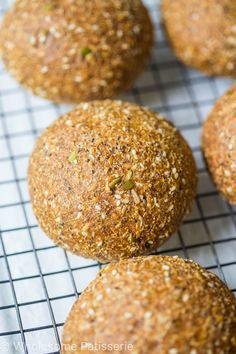 So this is the first time I'm sharing a gluten free bread recipe with you, a gluten free bread roll recipe at that, excited?! I got this recipe from Pete Evans from The Paleo Way. We followed along with his recipe and they turned out perfectly that it would be a crime if I didn't...