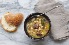 Chestnut and Chickpea Soup Recipe on Food52 recipe on Food52