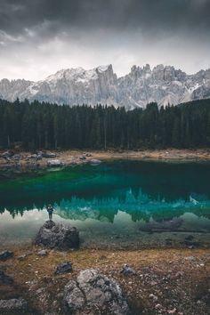 Karersee, Veneto, Italy