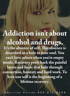 There are some scary things in our world today, but none is more scary than an addiction to drugs and alcohol. It's a growing problem in our society, and alcohol and drug addiction has become a tough nut to crack, so to speak. Drugs and alcohol make. Addiction Recovery Quotes, Alcohol Addiction Quotes, Quotes About Drug Addiction, Alcohol Quotes, Nicotine Addiction, Meth Addiction, Addiction Help, Alcohol Is A Drug, Alcohol Detox