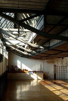 colegio maravillas, arq. alejandro de la sota, madrid, 1962 by m correia campos, via Flickr