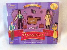 ANASTASIA  PARIS ROMANCE GIFT SET  Poseable Figures DIMITRI Anya NIB  | eBay