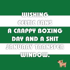 Hate Celtic this Christmas