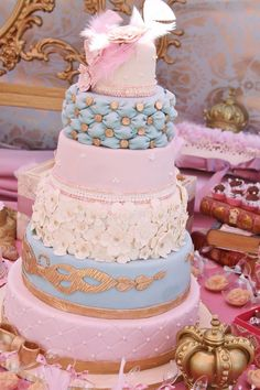Vintage Princess Party with Lots of Really Cute Ideas via Kara's Party Ideas | KarasPartyIdeas.com
