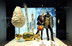 Peek & Cloppenburg Christmas windows 2012, Vienna visual merchandising
