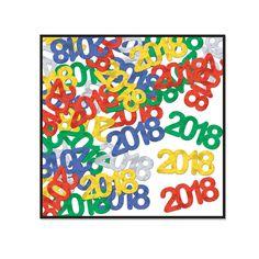 Beistle Fanci-Fetti 2018 Silhouettes (12ct)