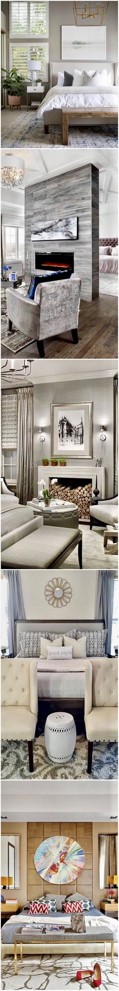Grey in the Master bedroom