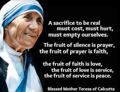 Mother Teresa - When you look at the Crucifix, you understand how much Jesus loved ...