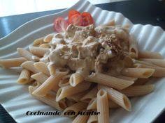 Cocinando con Montse: Macarrones con tofu