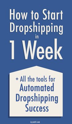 How to successfully market a dropship store!
