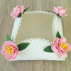 Foam Crafts, Diy And Crafts, Crafts For Kids, Arts And Crafts, Sewing Stitches, Diy Box, Flower Crafts, Fabric Flowers, Projects To Try