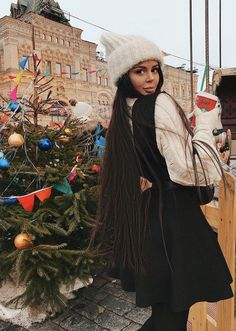 ❤️Ka¥la Kiss❤️ Winter Outfit For Teen Girls, Fall Winter Outfits, Outfits For Teens, Winter Hats, Christmas Scenery, Pink Christmas, Christmas Pictures, Fall Swags, Short Styles