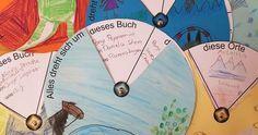 Alles dreht sich um... die Lieblingsbücher der Klasse 3b! Für die Vorstellung von Kinderbüchern im Deutschunterricht habe ich auf eine tol...