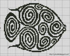 You can knit black and white or choo… - Knitting Charts Filet Crochet, Crochet Cross, Crochet Fish, Minecraft Pixel, Crochet Minecraft, Cross Stitch Charts, Cross Stitch Designs, Cross Stitch Patterns, Blackwork
