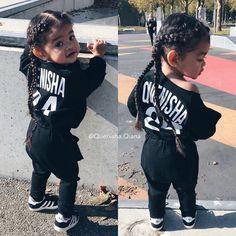 7935 Me gusta 87 comentarios Quenisha Qiana Official Quenisha Cute Mixed Babies, Cute Black Babies, Beautiful Black Babies, Cute Babies, Cute Little Girls Outfits, Kids Outfits Girls, Cute Kids Fashion, Baby Girl Fashion, Baby Boy Hairstyles