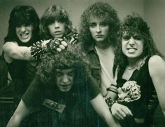 Jag Panzer .. old picture and Mark look so pretty here :)