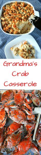 Grandma's Crab Casserole