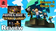 Minecraft Story Mode - Episode 5: Order Up Review