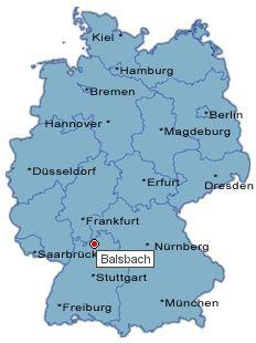 Postleitzahl von Balsbach