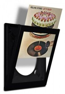 """Play & Display LP Frame --- Love this, but a bit steep at about $80 a piece --- From """"23 Ways to frame your record album covers"""""""