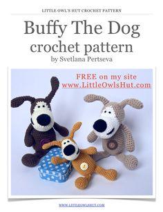Buffy The Dog: Crochet Pattern FREE