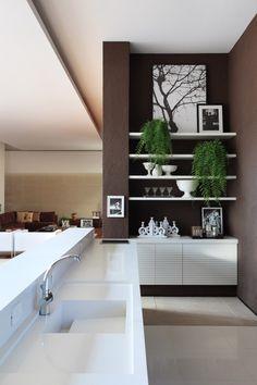 OM House / Studio Guilherme Torres - kitchen sink with drain board